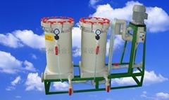 化學藥液雙桶過濾機
