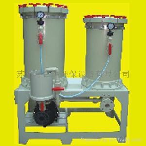 化學藥液雙桶過濾機 2