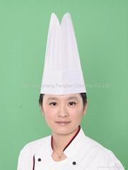 Eco-cotton Round Top Chef Hat