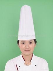 Paper Flat Top Chef Hat
