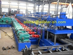 Gearbox 3 wave guardrail roll forming machine