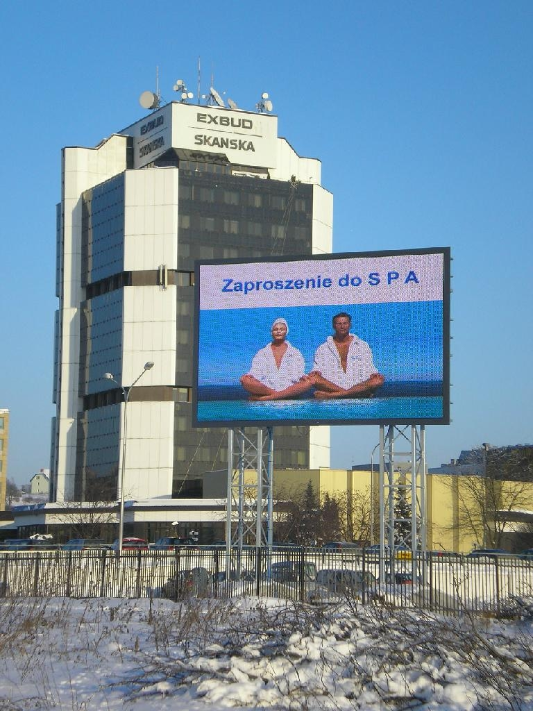 New P16 outdoor full color LED screen 1