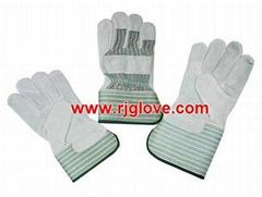 Stripe full palm glove