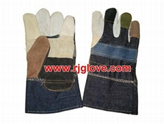 Furniture leather glove