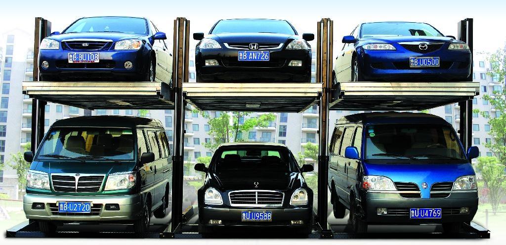 简易升降类两柱立体停车设备 1