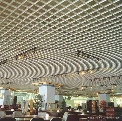 鋁格柵天花吊頂 - HL2001 - 恆麗龍 (中國 生產商) - 天花板 - 建築、裝飾 產品 「自助貿易」