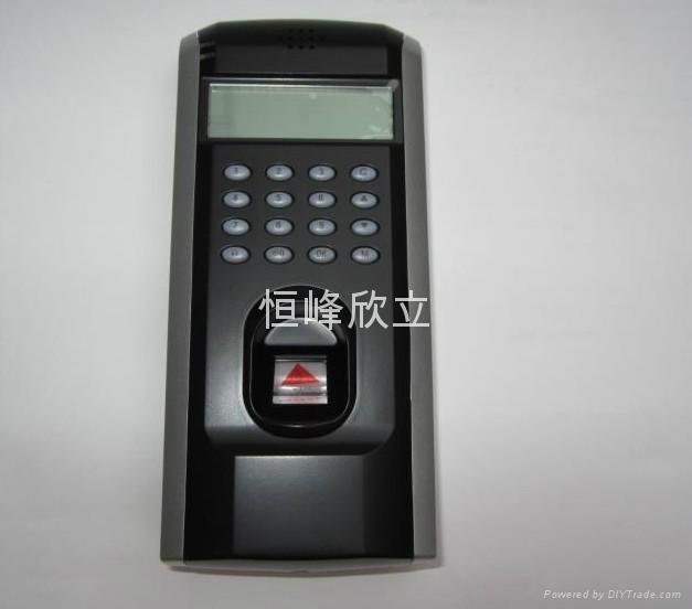 中控F7网络版指纹考勤门禁一体机 4