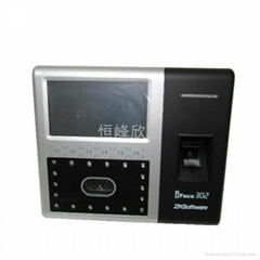 ZKSOTTWAREIFACE302 fingerprint face recognition attendance access machine