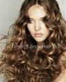 Cheap Body wave Brazilian hair Monofilament wig