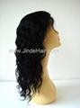 100% human hair silk top full lace wigs 2