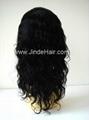 100% human hair silk top full lace wigs 3