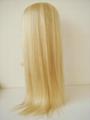 blonde thin skin around full lace wig 2