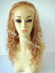 virgin peruvian silk top lace wig