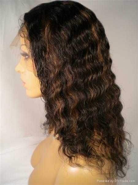 Quality Human Hair Lace Front Wig on sale 1
