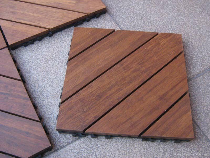 Outdoor DIY Bamboo Flooring 1 ...
