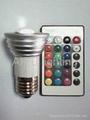 3w LED彩色遥控灯
