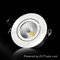 3W COB LED筒灯