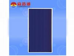 Full plate solar water heating panel