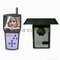 专业生产3.5G无线可视对讲门铃