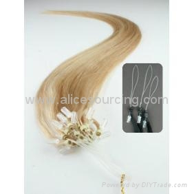 Micro loop hair extensions 1