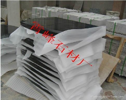 中國黑石材樓梯踏步 5