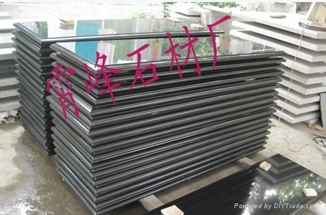 中國黑石材台面板 1