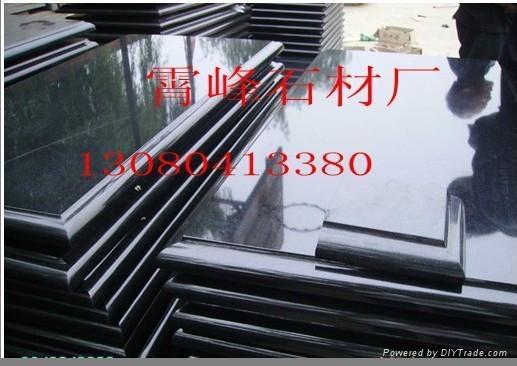 中國黑石材台面板 2