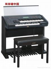 金标版双排键电子琴