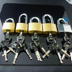 二級管理挂鎖同牙花同鑰匙挂鎖