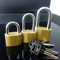 厚型通開銅挂鎖 2