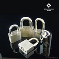 泰力品牌 一條鑰匙通開同心挂鎖