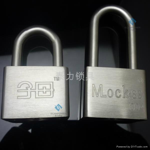 泰力品牌不鏽鋼材質一匙通開挂鎖 1
