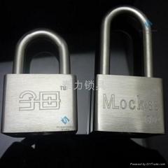泰力品牌不锈钢材质一匙通开挂锁