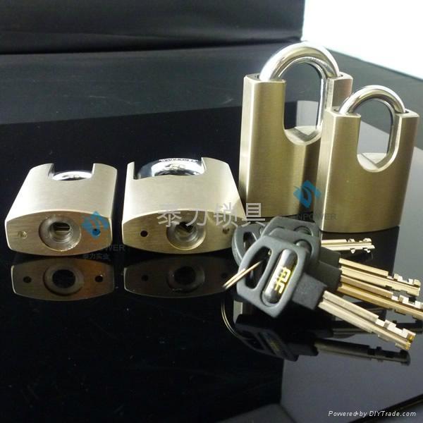 泰力品牌不鏽鋼材質一匙通開挂鎖 2