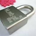 泰力品牌不鏽鋼材質一匙通開挂鎖 4