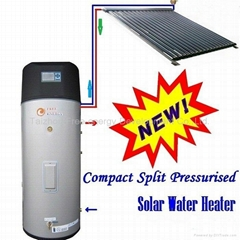 New Design of solar heating system