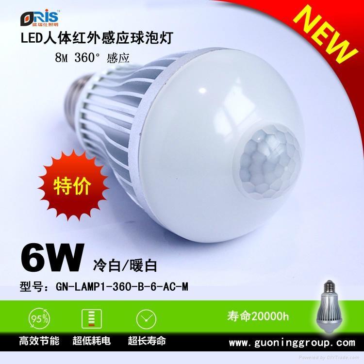 LED感应灯 1