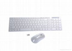 2.4GHZ  无线键盘鼠标套装