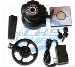 支持声音双向手机监控WIFI无线网络摄像头