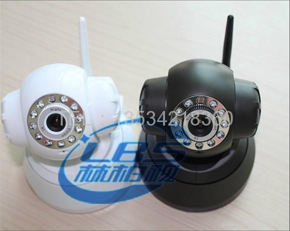 Support voice two-way mobile monitor WIFI wireless webcam 4