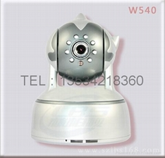 Mobile phone monitoring wireless video camera
