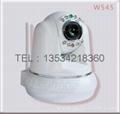 Wireless network surveillance cameras