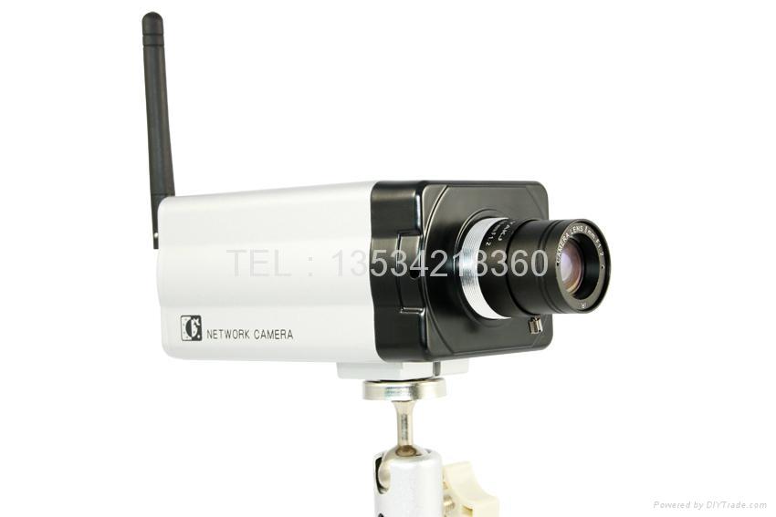 ip网络云台无线监控摄像头