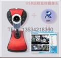 USB遠程網絡監控錄像報警拍照