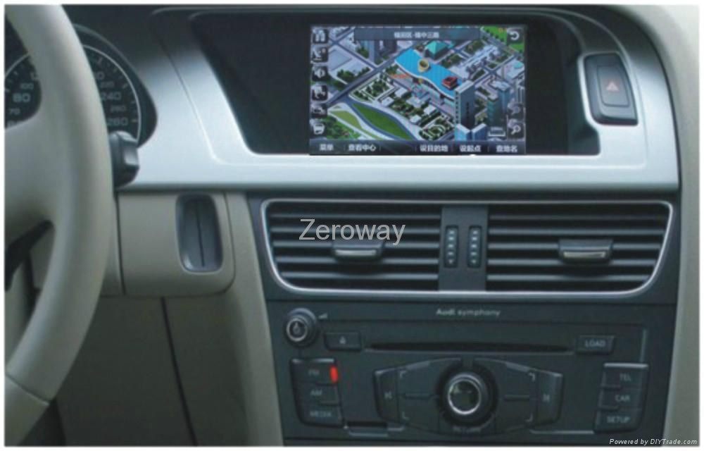 7 inch car screen upgrading with touch screen GPS parkding guding Mp5 and TV 4