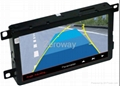 7 inch car screen upgrading with touch screen GPS parkding guding Mp5 and TV 2