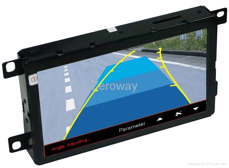 7 inch HD 800*480 touch operation car gps in dash for A4L/A5/Q5/A6L/Q7 1