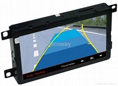 7 inch HD 800*480 touch operation car gps in dash for A4L/A5/Q5/A6L/Q7
