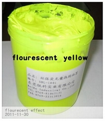 flourescent yellow plastisol