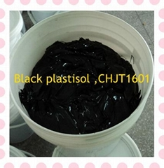 plastisol ink of black